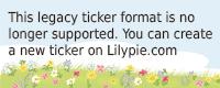 Lilypie 1er anniversaire Ticker