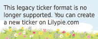 Lilypie 1er anniversaire Ticker